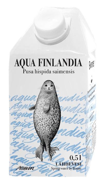 Näin saatiin norppavedelle julkisuutta koko Suomessa
