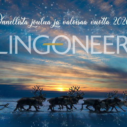 LINGONEER OY - joulutervehdys