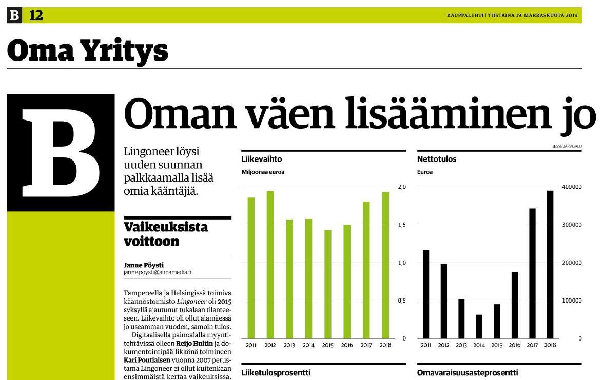 99 uutta kieltä valikoimaan – Tulostie ja Lingoneer yhteistyöhön