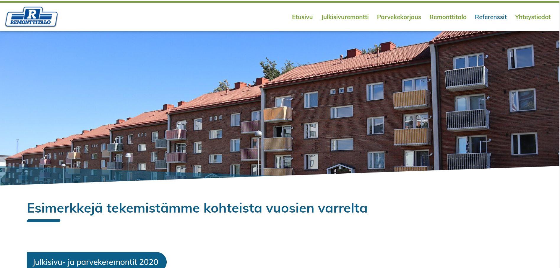 Uudistimme Remonttitalo.com-sivuston, mutta miksi?